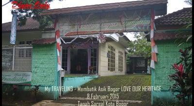 Photo of Art Gallery Batik Bogor Tradisiku at Jalan Jalak, Bogor, Bogor, Indonesia
