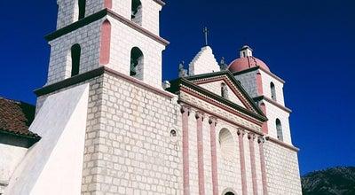 Photo of Church Santa Barbara Mission Church at Santa Barbara, CA 93105, United States