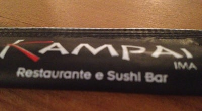 Photo of Sushi Restaurant Kampai Ima Sushi Bar at R. Dos Maias , 117-145  Centro, Passos 37900-052, Brazil