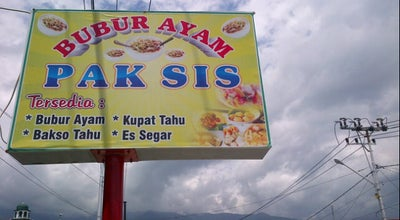 Photo of Breakfast Spot Bubur Ayam PAK SIS at Jl. Wahid Hasyim, Palu, Indonesia