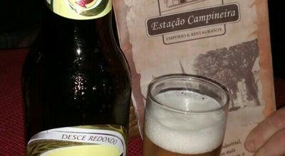 Photo of Beer Garden Estação Campineira at R. Dr. Sales De Oliveira, 232, Campinas, Brazil