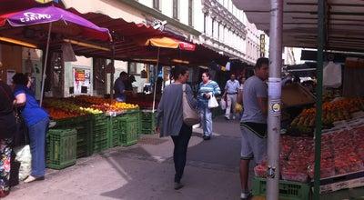 Photo of Market Brunnenmarkt at Brunnengasse, Wien 1090, Austria