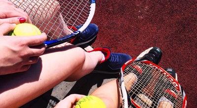 "Photo of Tennis Court Тенісні корти / Tennis courts at Озеро ""кірпічка"", Ужгород, Ukraine"