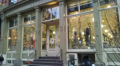Photo of Women's Store Anthropologie at 375 W Broadway, New York, NY 10012
