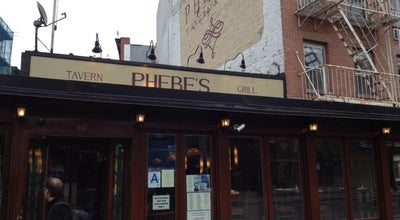 Photo of American Restaurant Phebes at 359 Bowery, New York City, NY 10003, United States