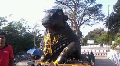 Photo of Outdoor Sculpture Nandi Temple at Chamundi Hill, Mysore, India