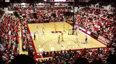 Photo of College Basketball Court Maples Pavilion at 655 Campus Dr, Stanford, CA 94305, United States