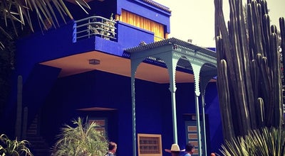 Photo of Garden Jardin de Majorelle | حديقة ماجوريل at Rue Yves Saint Laurent, Marrakech, Morocco