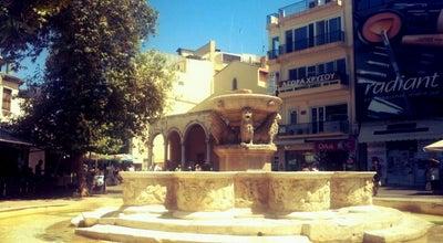 Photo of Monument / Landmark Κρήνη Μοροζίνι (Morozini Fountain) at Πλατεία Ελευθερίου Βενιζέλου, Ηράκλειο 712 02, Greece