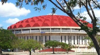 Photo of Basketball Stadium Poliforum Zamna at Mexico