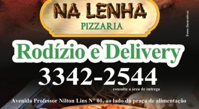 Photo of Pizza Place Na Lenha Pizzaria at Rua Mato Grosso - Parque Das Laranjeiras, Manaus, AM, Brazil