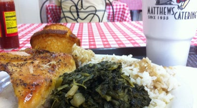 Photo of Southern / Soul Food Restaurant Matthews Cafeteria at 2299 Main St, Tucker, GA 30084, United States