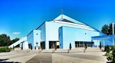 Photo of Church Kostol Kráľovnej pokoja at Námestie Kraľovnej Pokoja 1, Prešov 080 07, Slovakia