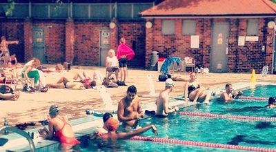 Photo of Pool London Fields Lido at London Fields Westside, London E8 3EU, United Kingdom