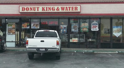 Photo of Donut Shop Donut King and Water at 7502 Katella Ave, Stanton, CA 90680, United States