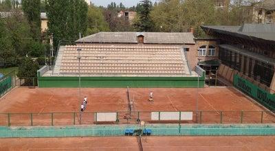 "Photo of Tennis Court Ситек Динамо at Спорткомплекс ""динамо"", Симферополь, Ukraine"