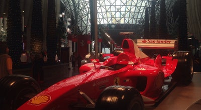 Photo of Theme Park Ride / Attraction Ferrari theme park at Dubai,emirates, Dubai, United Arab Emirates