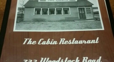Photo of Diner The Cabin Restaurant at 723 Woodstock Road, Fredericton, NB, Canada