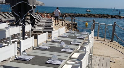 Photo of French Restaurant Royal Beach at 16 Boulevard Maréchal Leclerc, Antibes 06600, France