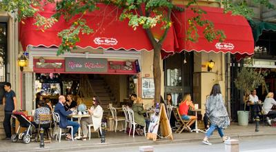 Photo of Cafe Rose Marine at Kılıçali Paşa Mah. Akarsu Yokuşu Sok. No: 27 Cihangir, İstanbul, Turkey