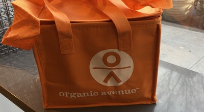 Photo of Vegetarian / Vegan Restaurant Organic Avenue at 43 8th Ave, New York, NY 10011, United States