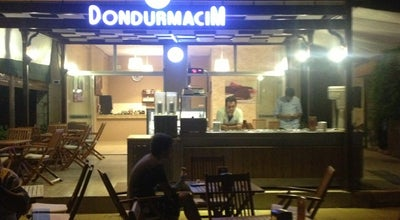 Photo of Ice Cream Shop Dondurmacım Sedat Usta Cafe&Patisserie at Çiftlikköy/çeşme, izmir, Turkey