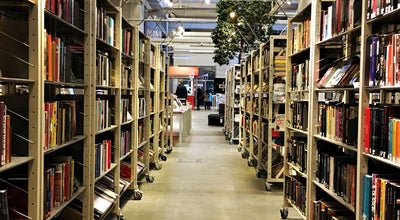 Photo of Library Dieselverkstadens bibliotek at Marcusplatsen, Nacka 131 54, Sweden