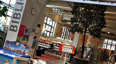 Photo of Library Dieselverkstadens bibliotek at Marcusplatsen, Nacka 131 54, Sweden
