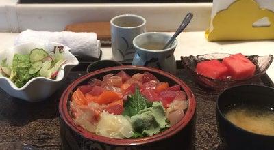 Photo of Sushi Restaurant 乾山寿司 Kenzan Sushi at 1 Chaoyanggongyuan Rd, Beijing, Be, China