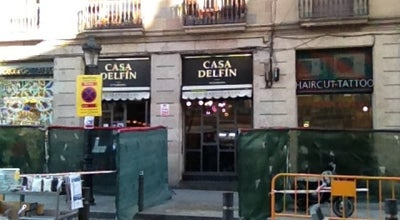 Photo of Tapas Restaurant Casa Delfín at Passeig Del Born 36, Barcelona 08003, Spain