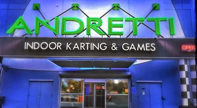 Photo of Tourist Attraction Andretti Indoor Karting and Games at 11000 Alpharetta Highway, Roswell, GA 30076, United States