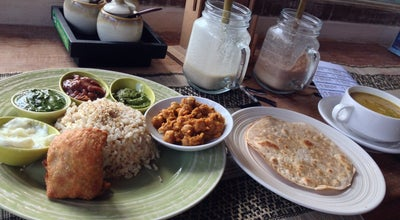 Photo of Vegetarian / Vegan Restaurant Earth Cafe at Jl. Laksamana, Oberoi, Badung 80361, Indonesia