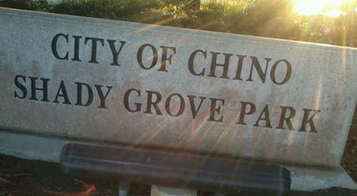 Photo of Park Shady Grove Park at 6776 Chino Ave, Chino, CA 91710, United States