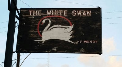 Photo of Bar The White Swan at 4419 Navigation Blvd, Houston, TX 77011, United States