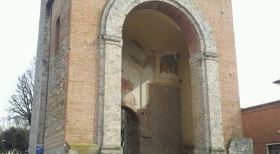 Photo of Historic Site Antiporto di Camollia at Via Vittorio Emanuele Ii, Siena, Italy