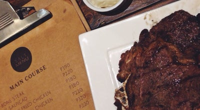 Photo of Steakhouse SALT Makati at 5887 Fermina Cor Enriquez St. Poblacion, Makati 1210, Philippines