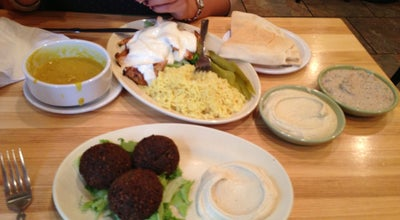 Photo of Middle Eastern Restaurant Jerusalem Garden at 314 E Liberty St, Ann Arbor, MI 48104, United States
