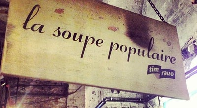 Photo of Modern European Restaurant La Soupe Populaire at Prenzlauer Allee 242, Berlin 10405, Germany