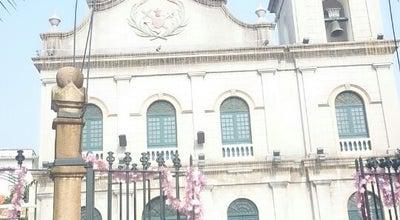 Photo of Church 望德聖母堂 Paróquia de São Lázaro at 瘋堂斜巷聖母堂前地, 澳門, 澳門, China