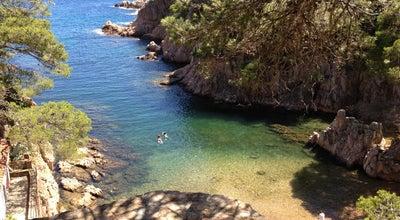 Photo of Beach Cala Aigua Xelida at Carrer Cala Marquesa, 39, Palafrugell 17212, Spain