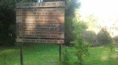 Photo of Historic Site Homenaje a Galvarino at Coronel, Chile