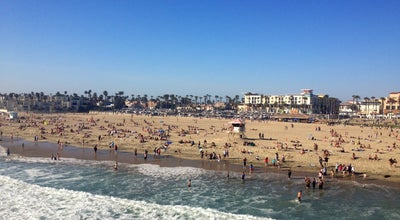 Photo of Beach Huntington Beach Surf City at Huntington Beach, CA 92648, United States