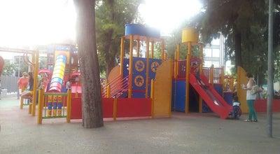 Photo of Playground Κούνιες at Χρυσοστόμου Σμύρνης, Μοσχάτο 183 45, Greece