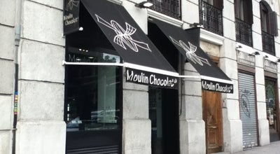 Photo of Dessert Shop Moulin Chocolat at C. Alcala,  77, Madrid, Spain