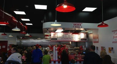 Photo of Burger Joint Five Guys Burgers & Fries at 7110 Rogers Ave, Fort Smith, AR 72903, United States