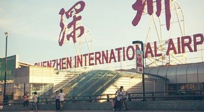 Photo of Airport Shenzhen Bao'an Int'l Airport (SZX) 深圳宝安国际机场 at Airport S. Rd., Shenzhen, Gu 518128, China