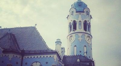 Photo of Church Kostol sv. Alžbety (Modrý kostolík) at Bezručova 2534/2, Bratislava 811 09, Slovakia