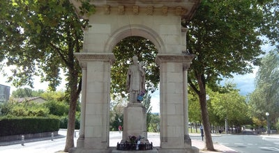 """Photo of Historic Site Estatua de San Prudencio (Pop. """"El Santo"""") at Avda. De San Prudencio, Vitoria-Gasteiz 01007, Spain"""