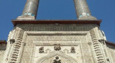 Photo of Historic Site Çifte Minareli Medrese at Tarihi Kent Meydanı, Sivas, Turkey