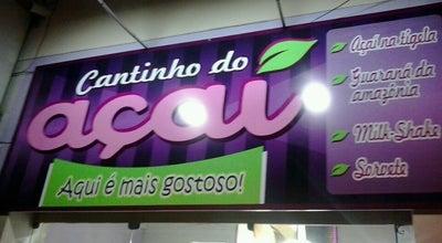 Photo of Dessert Shop Cantinho do Açaí at R. Rui Barbosa, Patos, Brazil